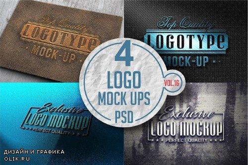 Logo Mock-up Pack Vol.16 - 3340383
