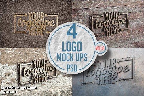 Logo Mock-up Pack Vol.15 - 3340216