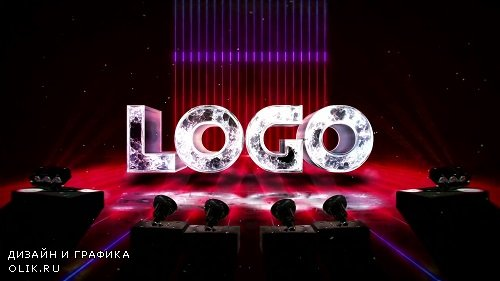 Realistic Light Spotlights Logo 2 224555 - After Effects Templates