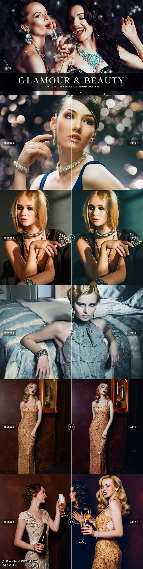 Glamour & Beauty Lightroom Presets - 3758427