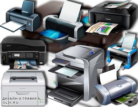 Растровые клипарты - Печатные принтеры