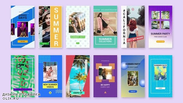 Summer Instagram Stories 229612 - After Effects Templates