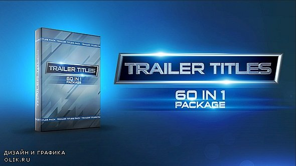 Trailer Titles Pack 227353 - After Effects Templates