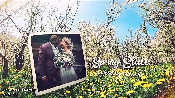 Spring Wedding Slide 230625 - After Effects Templates