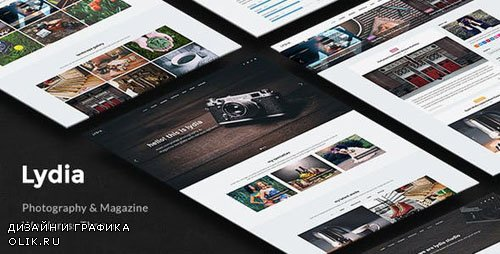 ThemeForest - Lydia v1.1.8 - Photography & Magazine WordPress Theme - 13652894