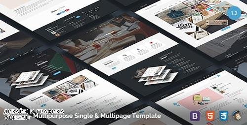 ThemeForest - Kwoon v1.2.6 - Multipurpose Single/Multi-page Template - 11398731