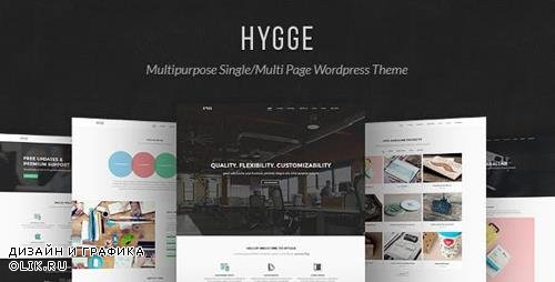 ThemeForest - Hygge v1.0.10 - Multipurpose Single/Multi Page WP Theme - 12923490