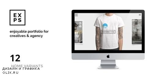 ThemeForest - EXPOSE v1.0.10 - Creatives & Agency WordPress Theme - 9925556