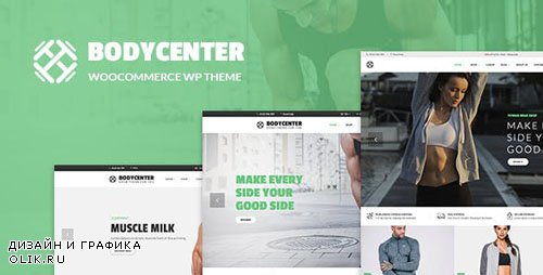 ThemeForest - BodyCenter - Gym, Fitness WooCommerce WordPress Theme (Update: 13 May 19) - 23510283