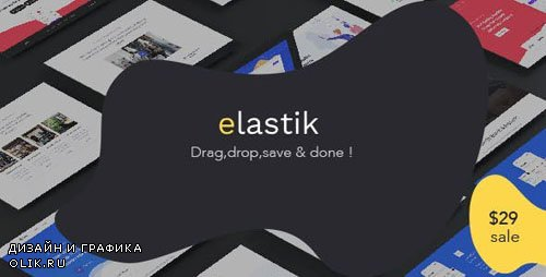 CodeCanyon - Elastik Templates Library v1.27.6 - 23775485