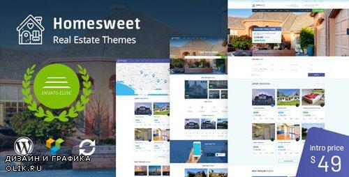 ThemeForest - HomeSweet v1.2 - Real Estate WordPress Theme - 20560953