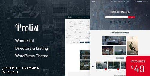 ThemeForest - Prolist v1.15 - Directory & Listing WordPress Theme - 19504953