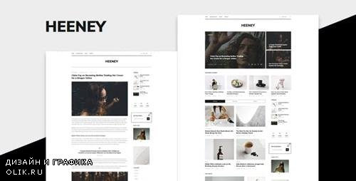 ThemeForest - Heeney v1.0.0 - Modern Blog WordPress Theme - 23478792