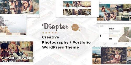 ThemeForest - Diopter v1.1 - Creative Responsive Photography / Portfolio WordPress Theme - 18523973