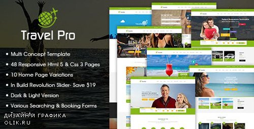 ThemeForest - Travel Pro - Tours and Travels Booking HTML5 Template (Update: 6 June 16) - 14961754