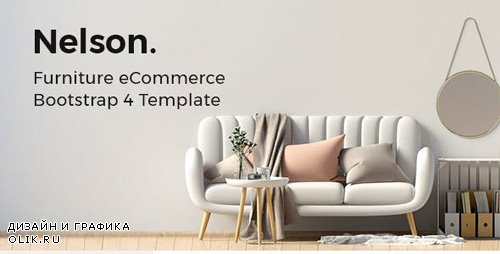 ThemeForest - Nelson v1.0 - Furniture eCommerce Bootstrap 4 Template - 23775508