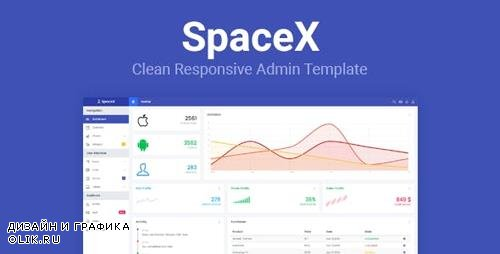 ThemeForest - SpaceX v1.0 - Bootstrap Admin Template - 19432658