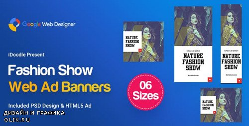 CodeCanyon - C06 - Fashion Show Banners GWD & PSD - 23750238
