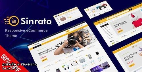 ThemeForest - Sinrato v1.0 - Mega Shop Responsive Magento Theme - 23789595