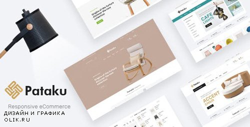 ThemeForest - Pataku v1.0 - Technology OpenCart Theme (Page Builder Layouts) - 23716933