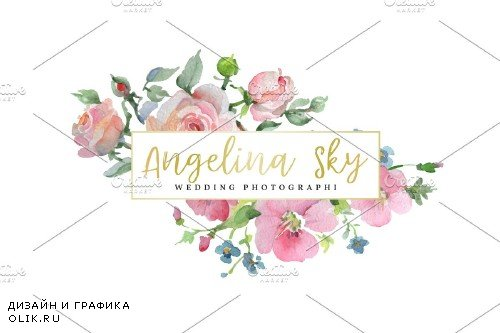 logo pink and purple hibiscus - 3773795