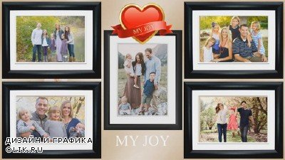 Проект ProShow Producer - My Family,My Love