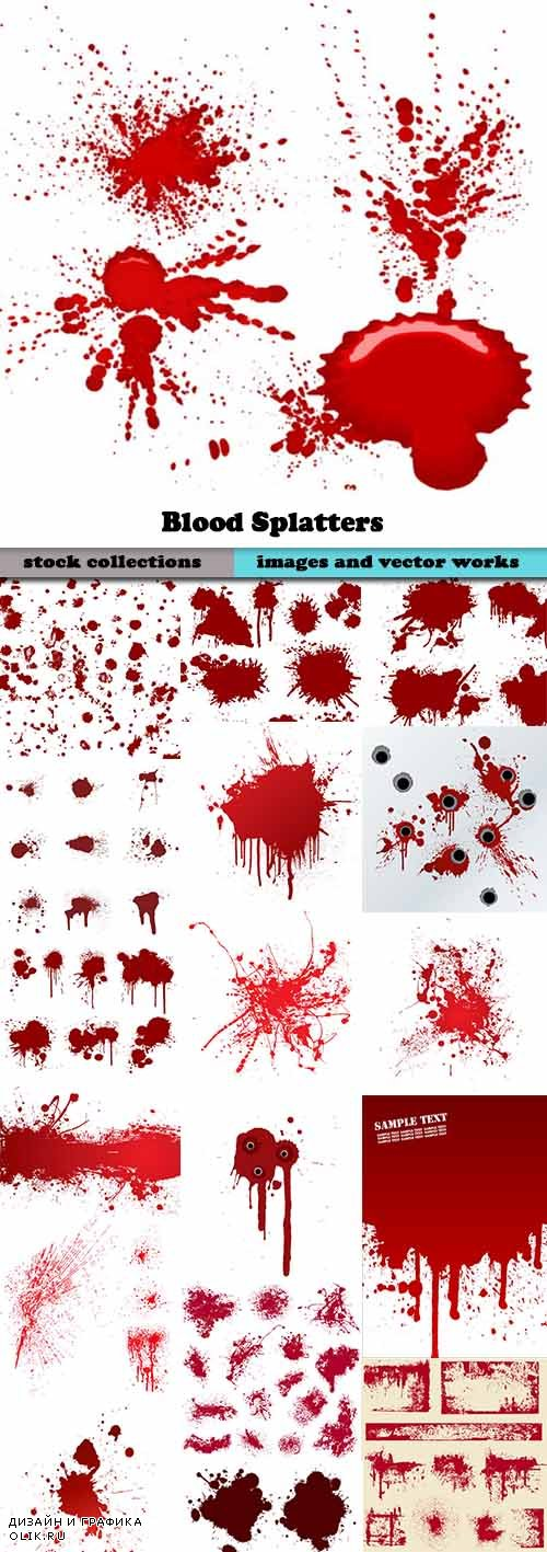 Blood Splatters 50xEPS