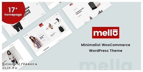 ThemeForest - Mella v1.2.6 - Minimalist Ajax WooCommerce WordPress Theme - 22809184
