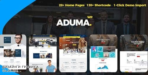 ThemeForest - Aduma v1.2 - Consulting, Finance, Business WordPress Theme - 21293424