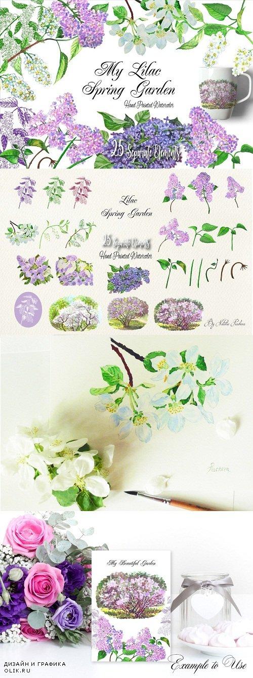 My Lilac Spring Garden - 2599410