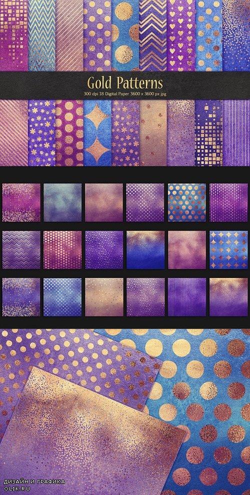 Gold Pattern & Foil Textures - 3584160