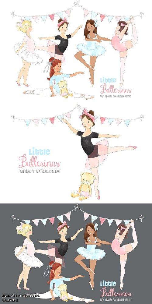 Ballerinas Ballet Dancing Clipart - 3732192