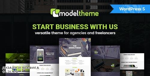 ThemeForest - ModelTheme v1.4 - Versatile WordPress Theme for Agencies and Freelancers - 16389967