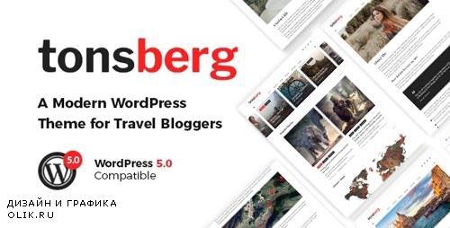 ThemeForest - Tonsberg v1.1.1 - A Modern WordPress Theme for Travel Bloggers - 22956137