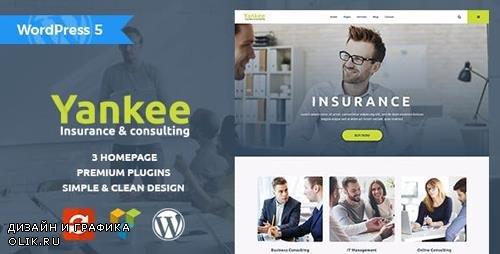 ThemeForest - Yankee v1.1.1 - Insurance & Consulting WordPress Theme - 19745716