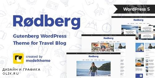 ThemeForest - Rodberg v1.1.1 - Travel Blog WordPress Theme Gutenberg Compatible - 22641571