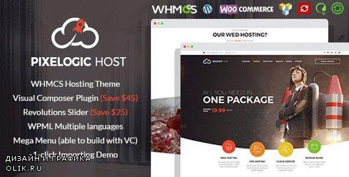 ThemeForest - Pixelogic v2.0.0 - WHMCS Hosting, Shop & Corporate Theme - 4803648