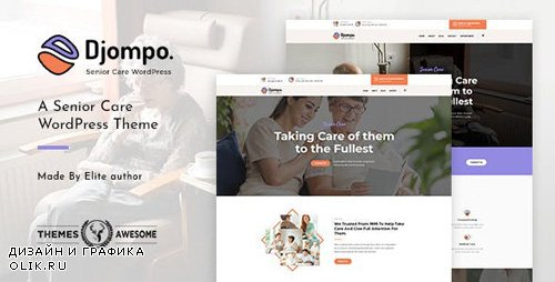 ThemeForest - Djompo v1.2 - Senior Care WordPress Theme - 22627752