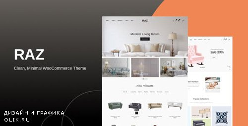 ThemeForest - Raz v1.0.0 - Clean, Minimal WooCommerce Theme - 23770232