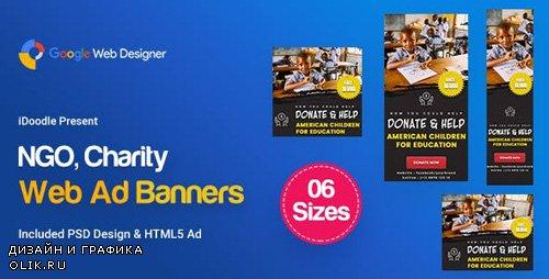 CodeCanyon - C35 - NGO, Charity Banners HTML5 Ad - GWD & PSD - 23843495