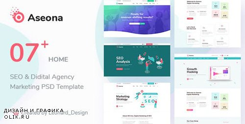ThemeForest - SeoMoz v1.0 - SEO Digital Marketing Template PSD - 23528095
