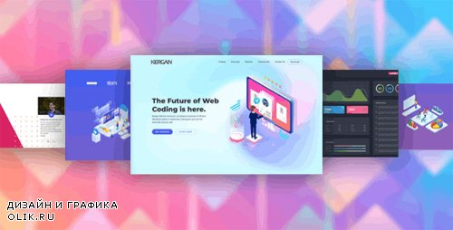 ThemeForest - Kergan v1.0 - Digital Startup HTML Templates - 23819519