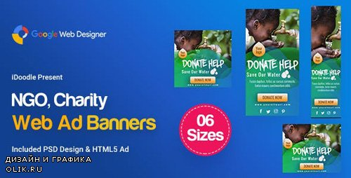 CodeCanyon - C34 - NGO, Charity Banners HTML5 Ad - GWD & PSD - 23825837