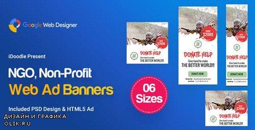 CodeCanyon - C33 - NGO, Charity HTML5 Ad - GWD & PSD - 23825819