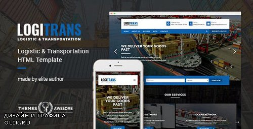 ThemeForest - LogiTrans v1.0 - Logistic and Transportation HTML Template - 14130505