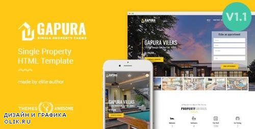 ThemeForest - Single Property HTML Template - Gapura v1.1 - 13147476