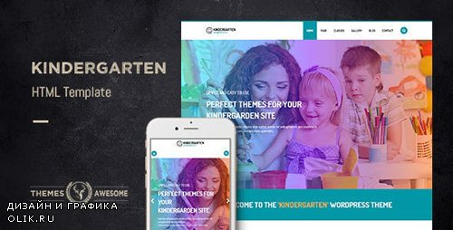 ThemeForest - Kindergarten v1.0 - HTML template - 12413643