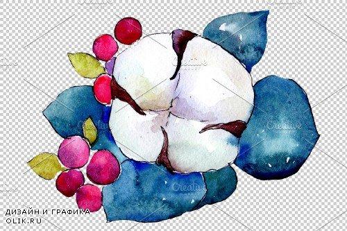 Bouquet flower composition PNG set - 3083070