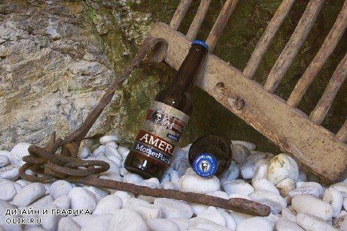 White Stone | Beer Mockup - 253338