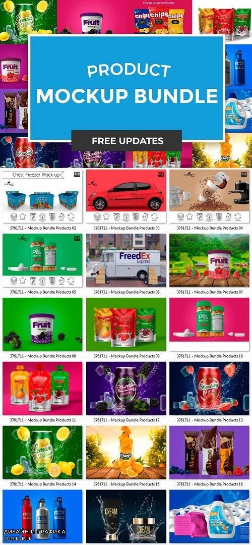 Mockup Bundle Products - 3761711
